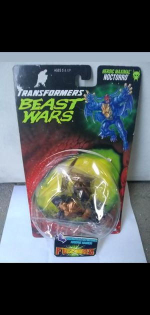 transformers beast wars noctorro action figure *partial sealed* sale or trade read description for Sale in Manteca, CA