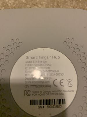 Samsung Smartthings / Connect Hub for Sale in Durham, NC