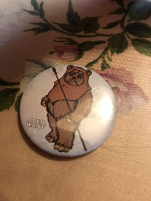 Vintage ewok button for Sale in Modesto, CA