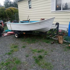 High Laker 12 Ft Boat And Trailer. for Sale in Everett, WA