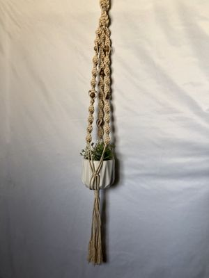 Macrame plant hanger (pot/plant not included) for Sale in Las Vegas, NV