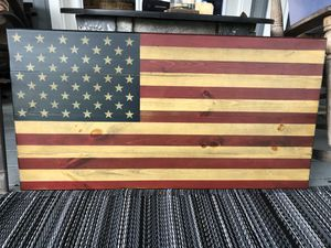 Wooden American Flag for Sale in Sulphur, LA