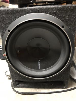 Rockford Fosgate prime P3 subwoofer and box for Sale in Phoenix, AZ