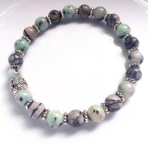 Jasper Crystal Bracelet for Sale for sale  Brookfield Center, OH