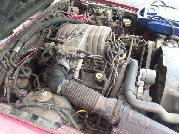 1986 mustang 5.0 stick needs fuel pump plus glass