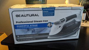 Beautural professional steam iron. for Sale in Charles Town, WV
