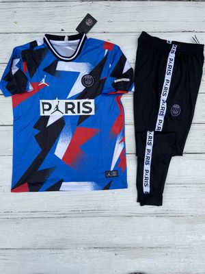 Brand new size large PSG tracksuit jumpsuit outfit 2020 for Sale in Tucker, GA