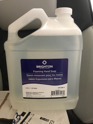 Brighton foaming handsoap 1 gal 4ct for Sale in Manchester, CT