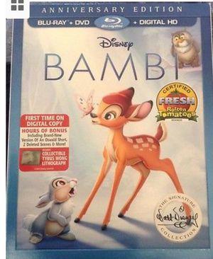Bambi Blu-ray for Sale in Las Vegas, NV