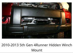 2010-2013 4runner Budbuilt Hidden Winch Mount for Sale in North Las Vegas, NV