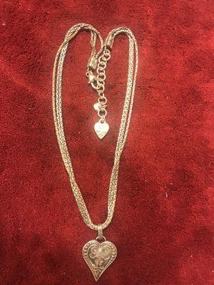 Brighton 3 strand silver necklace for Sale in Walnut, CA