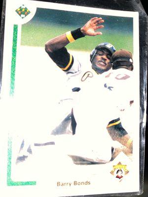 Barry bonds baseball card for Sale in Washington, DC