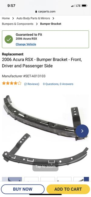 Acura Rsx type s / base k20a2 /k20a3 headlight Bracket 02-04 for Sale in Lakewood, CA