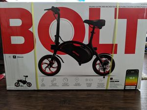 Jetson Bolt Folding electric bike brand new in box for Sale in Vista, CA