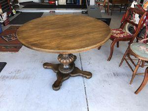 Vintage Oak Dining table 1970's solid ! for Sale in Phoenix, AZ
