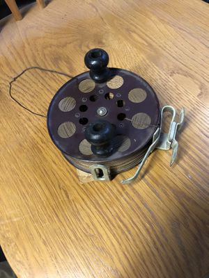 Large Fly Reel w/Bronze Line for Sale in Fresno, CA
