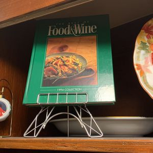 1994 Collection Of Food & Wine Cook Book With Stand for Sale in Boston, MA