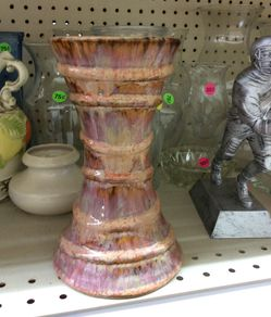 Ceramic pillar candle holder for Sale in Columbus,  OH