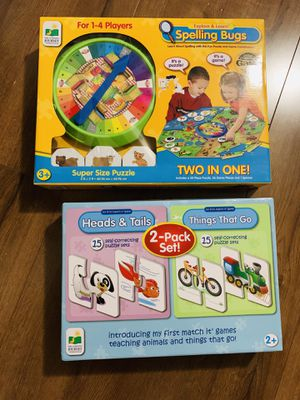 Toddler games / puzzle gift educational bundle for Sale in Las Vegas, NV