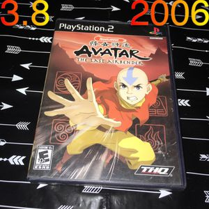2006 PS2 Avatar The Last Airbender game for Sale in Phoenix, AZ