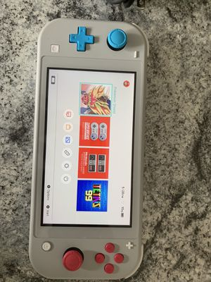 Like new limited edition Nintendo Switch lite with Pokémon Shield game-Price is FIRM!!!! *pick up only** for Sale in Washington, DC