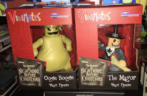 Vinimates Nightmare Before Christmas Oogie Boogie and The Mayor for Sale in Houston, TX