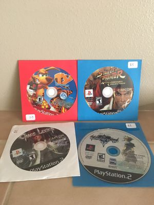 PlayStation 2 game lot *Discs only* for Sale in Lynnwood, WA