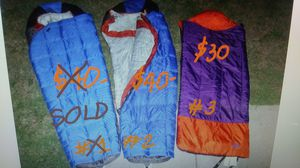 SALE, 2 for 1 price. LL BEAN MUMMY & CLASSIC SLEEPING BAG. for Sale in Toms River, NJ