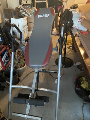 Inversion table for Sale in San Jacinto, CA