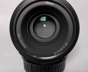 Nikon 50mm 1.8G for Sale in Virginia Beach,  VA