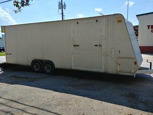 26 ft enclosed cargo car auto trailer hauler for Sale in Los Angeles, CA