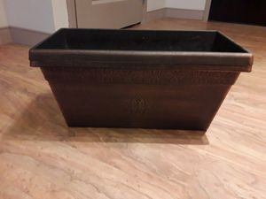Brown Plastic Pot Plant boxes for Sale in Columbus, OH