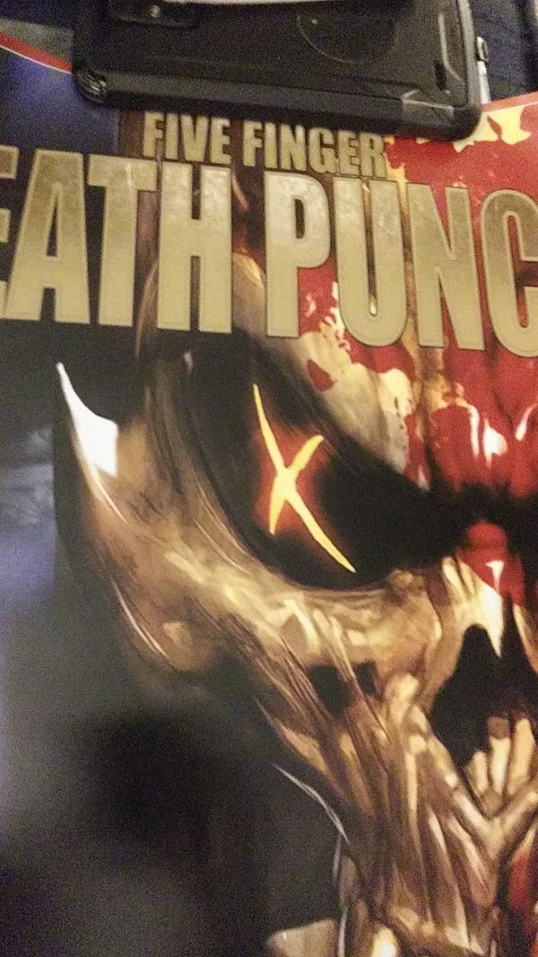NEW FIVE FINGER DEATH PUNCH SHAM PAIN