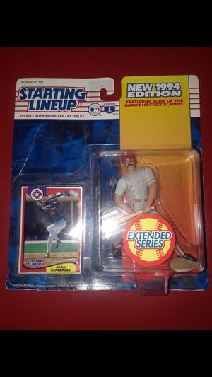 Baseball players collectibles toys and card for Sale in Arlington, TX