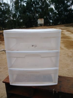 Plastic drawers for Sale in Ramona, CA