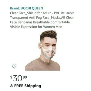 Reusable Face Mask For Man And Women for Sale in Fort Worth, TX