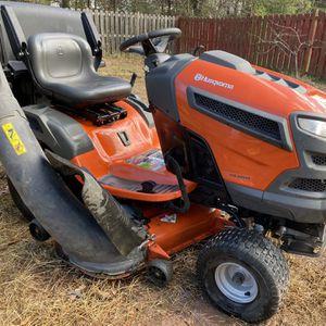2016 Husqvarna YTA24V48 Lawn Tractor Riding Mower for Sale in Bristow, VA