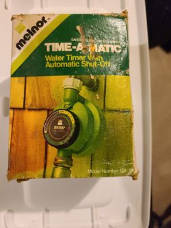 Melnor sprinkler timer for Sale in Clifton,  NJ