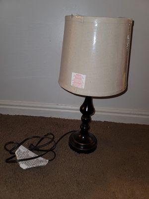 Tan lamp for Sale in Layton, UT