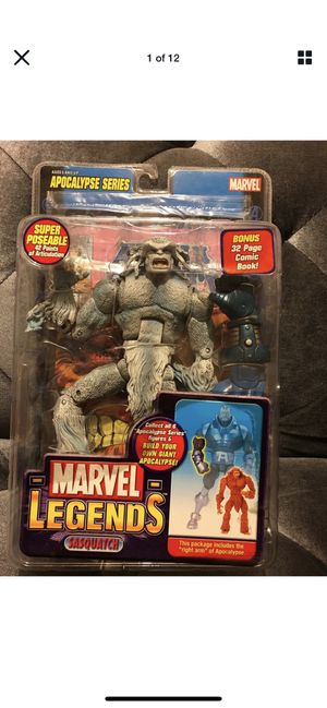 Marvel Legends Sasquatch (White/Grey Variant) BAF Apacalypse Series -New for Sale in Fresno, CA
