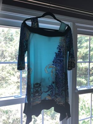 New turquoise tunic size 2X by Seven Karat for Sale in Oakton, VA