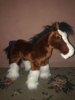 Breyer Horse Stuffed Clydesdale for Sale in Millstone, NJ