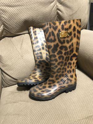 Guess Leopard Print Rain Boots for Sale in Las Vegas, NV