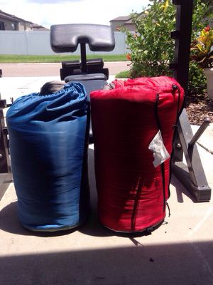 Set of two sleeping bag class for Sale in Riverview, FL