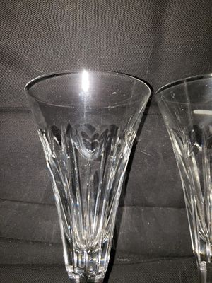 WATERFORD CAMPAGNE FLUTES 2 for Sale in Raytown, MO