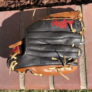 Left Handed Rawlings Glove P110GBB (brown,black,tan,red) for Sale in North Tustin, CA