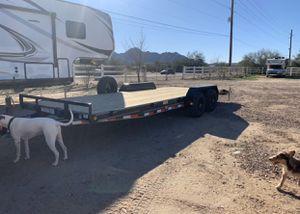 2019 PJ 22Ft car hauler in excellent condition for Sale in Queen Creek, AZ
