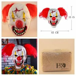 Deluxe Novelty Circus Clown Mask - NEW for Sale in San Angelo,  TX