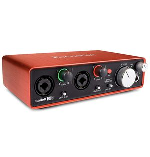 Focusrite Scarlett 2i2 (2nd Gen) USB Audio Interface with Pro Tools | First for Sale in Chicago, IL