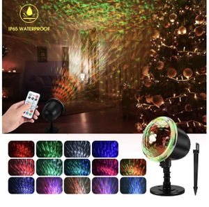 Water Wave Christmas Projector Lights, Waterproof LED Night Light Projector for Sale in Oswego, IL
